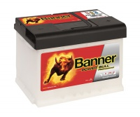 Autobaterie BANNER Power Bull PROfessional 12V 63Ah 600A P6340