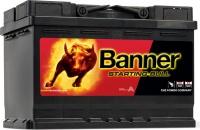 BANNER Starting Bull 12V 72Ah 640A 57212