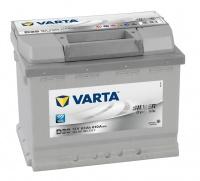 VARTA SILVER Dynamic 12V 63Ah 610A, LEVÁ, 563 401, D39