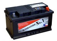 Autobaterie No.1 12V 80Ah 740A
