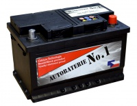 Autobaterie No.1 12V 72Ah 680A
