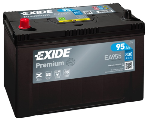 exide premium 12v 95ah 800a lev ea955. Black Bedroom Furniture Sets. Home Design Ideas