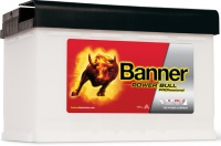 Autobaterie BANNER Power Bull PROfessional 12V 77Ah P7740