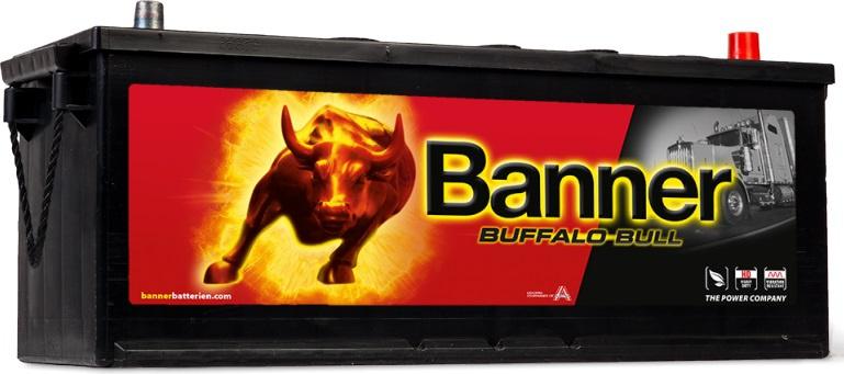 Autobaterie BANNER Buffalo Bull 12V 132Ah 900A 63211 298de9c2623
