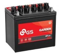 GS Baterie Garden 12V 26Ah 200A Levá Garden U1