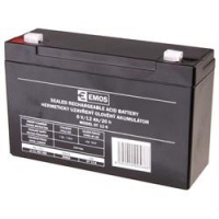 Bezúdržbový olověný akumulátor EMOS 6V 12Ah