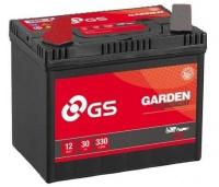 GS Baterie Garden 12V 30Ah 270A Levá U1