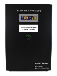 Záložní zdroj 12V SinusUPS 300W + aku 40Ah AGM