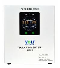 Záložní zdroj 24V sinusPRO 1400W + solární regulátor MPPT