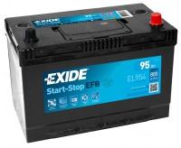 Autobaterie EXIDE Start-Stop EFB 12V 95Ah 800A EL954