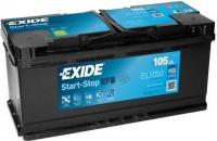 EXIDE Start-Stop EFB 12V 105Ah 950A EL1050