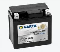 Motobaterie VARTA YTX5L /FA/ 504909 , 12V 4Ah 75A