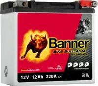 BANNER Bike Bull 12V 12Ah 220A 51421  ETX14L AGM PRO