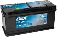 EXIDE Start-Stop EFB 12V 100Ah 900A EL1000