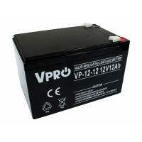 VPRO AGM 12V 12Ah