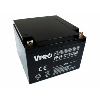 VPRO AGM 12V 26Ah