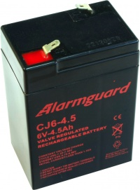 ALARMGUARD CJ6-4,5 6V 4,5Ah