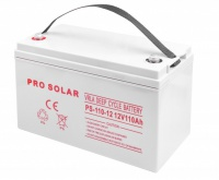 V PRO AGM DEEP CYCLE SOLAR 12V 110Ah