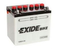 Motobaterie EXIDE 12V 24Ah 200A 12N24-4A