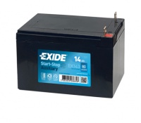 EXIDE Start-Stop přídavné AGM 12V 14Ah EK-143