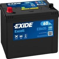 EXIDE Excell 12V 60Ah 390A EB605