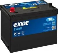 EXIDE Excell 12V 70Ah EB705