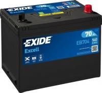 EXIDE Excell 12V 70Ah EB704