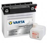 Motobaterie VARTA 12N5,5-3B, 506011, 12V 5,5Ah 55A