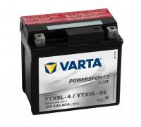 Motobaterie VARTA YTX5L-BS, 504012, 12V 4Ah 80A