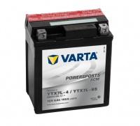 Motobaterie VARTA YTX7L-BS, 506014, 12V 6Ah 100A