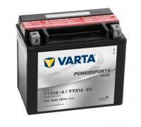 Motobaterie VARTA YTX12-BS, 510012, 12V 10Ah 150A