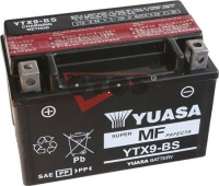 Motobaterie YUASA YTX9-BS 12V 8Ah 135A
