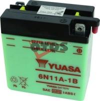 Motobaterie YUASA 6N11A-1B 6V 11Ah